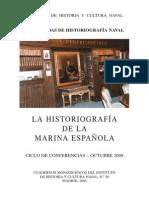 La Historiografía de la Marina Española