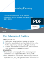 Strategic Marketing Plan Framework-Adapted