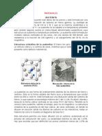 COMPOSICION QUIMICA DE DIVERSOS MATERIALES DERIVADOS DEL HIERRO