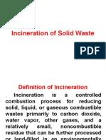11. Solid Waste Management - Incineration