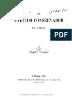 Alaman-El Partido Conservador en MEXICO