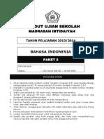 Latihan Soal Un Sd Mi Bahasa Indonesia Paket 2