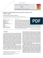 Analysis of Experimentally Generated Friction Related Acoustic Emission Signals