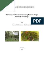 Keberlanjutan Konservasi Semarang Bersama Dengan Ekowisata Jatibarang