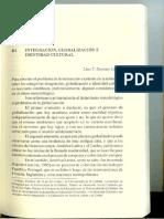 Integracion Globalizacion e Identidad Cultural Lino Lopez