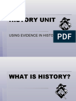 History Power Point Primary Secondary Sources