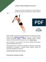 Entrenamiento Con Strap Training o TRX Decathlon
