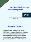 nasa risk management   Risk Management Scribd Quality Risk Management Pharm