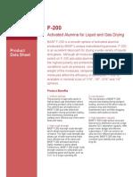 F-200 data sheets