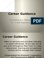 Economic Implications of Career Guidance