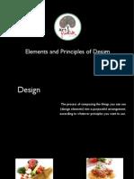 Elements & Principles of Design2015
