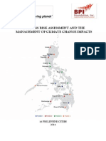 Wwf Bpi Foundation - 2014 Business Risk Assessment & Mgnt of Climate Change Impacts - 16 Cities