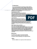 Jobswire.com Resume of dthomas004