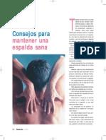 Articulo A tono Ines Gonzalez Consejos Para Mantener Una Espalda Sana