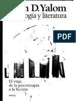 Yalom Irvin D - Psicologia Y Literatura.PDF