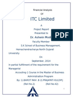 Project of ITC LTD