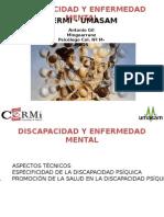 Discapacidad y Salud Mental - Salud Madrid