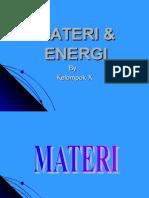 Materi & Energi