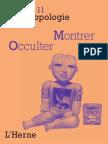 Cahier d'anthropologie Sociale N° 11