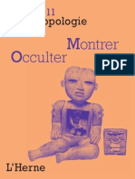 Cahier d'anthropologie Sociale N° 11