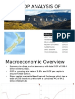 GDP Analysis of New Zealand