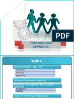 Performance appraisal ppt HRM project final