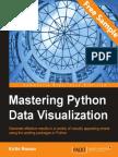Mastering Python Data Visualization - Sample Chapter