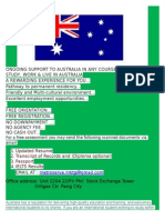 australia student visa information