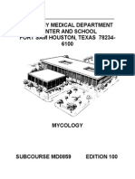 US Army Medical Course Mycology MD0859