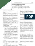 Generos alimenticios - Legislacao Europeia - 2005/12 - Reg nº 2076 - QUALI.PT
