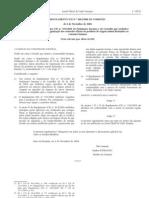 Generos alimenticios - Legislacao Europeia - 2006/11 - Reg nº 1663 - QUALI.PT