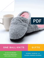 Tea Cozy Project From One Ball Knits Gifts