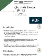 Produção Mais Limpa (PmaisL)