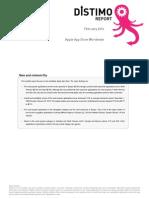 Distimo Report - February 2010