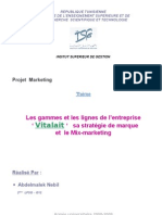 Projet Marketing