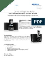 Communiqué de presse PhilipsRéveil Dock DC220