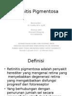 Retinitis Pigmentosa Referat Ppt
