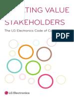 LG Electronics Code fesgof Conduct
