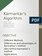 Karmarkar's Algorithm