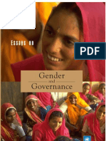 Essays on Gender and Governance