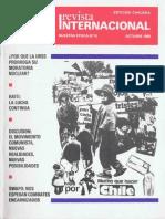 Revista Internacional - Nuestra Epoca N°10 - Edición Chilena - Octubre 1986