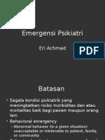 Emergensi Psikiatri PPT