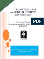 Tax Planning Atas Struktur Inbound Investment