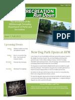 Recreation Run Down 07 Fall 15
