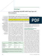 Genetic Epidemiology and Public Health