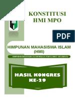 Konstitusi HMI MPO