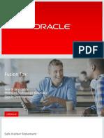 Oracle Fusion Tax