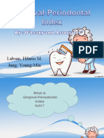 Gingival Periodontal Index