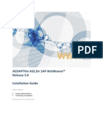SAP AEDAPTIVe AS2 3.0 Installation Guide