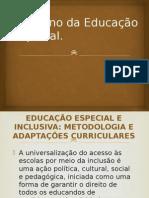 O Ensino Da Educação Especial